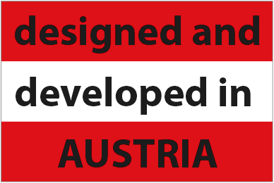 Designed and Developed in Austria