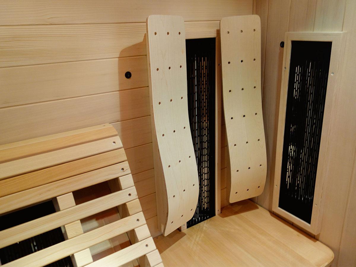 liegekabine ats relax 1 l die premium infrarotkabine mit. Black Bedroom Furniture Sets. Home Design Ideas