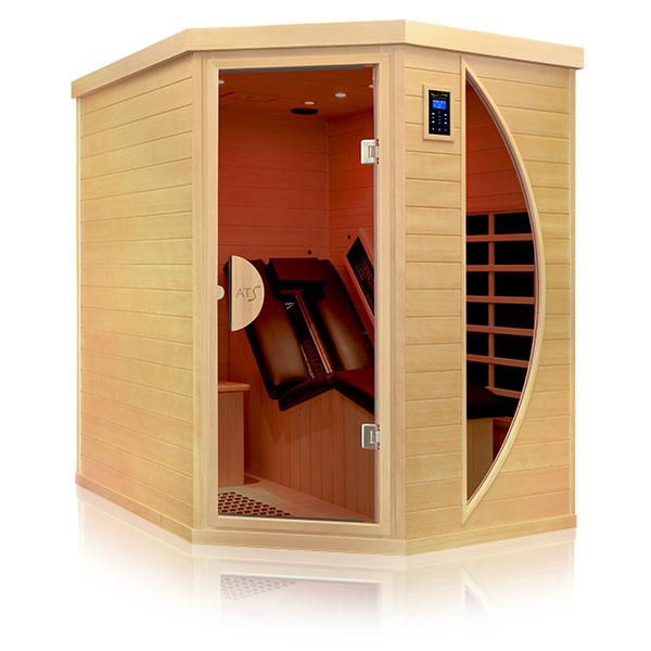 infrarotkabinen und w rmekabine zum liegen. Black Bedroom Furniture Sets. Home Design Ideas