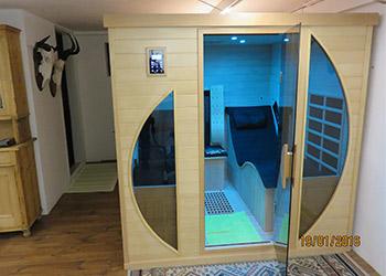 bewertungen kundenmeinungen und referenzen infrarotkabine ats relax 2. Black Bedroom Furniture Sets. Home Design Ideas