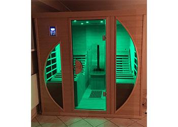 infrarotkabine relax 2 visio premium liege infrarotkabine mit tiefenw rme f r 2 personen mit. Black Bedroom Furniture Sets. Home Design Ideas